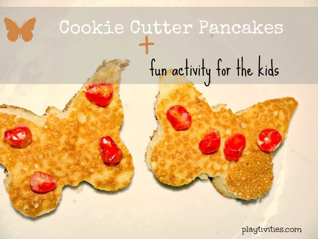 Cookie Cutter Pancake Recipe for Kids To Make