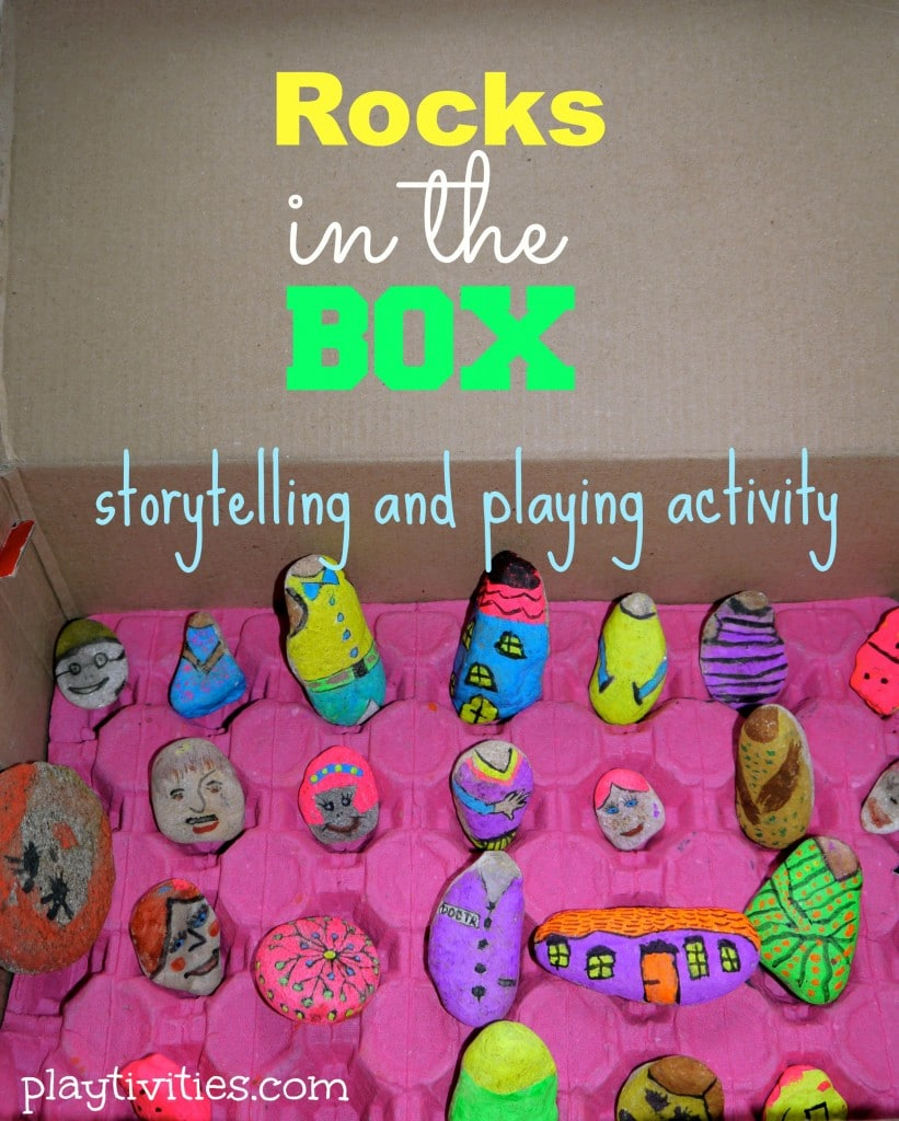 Storytelling Activity That Rocks. Literally.