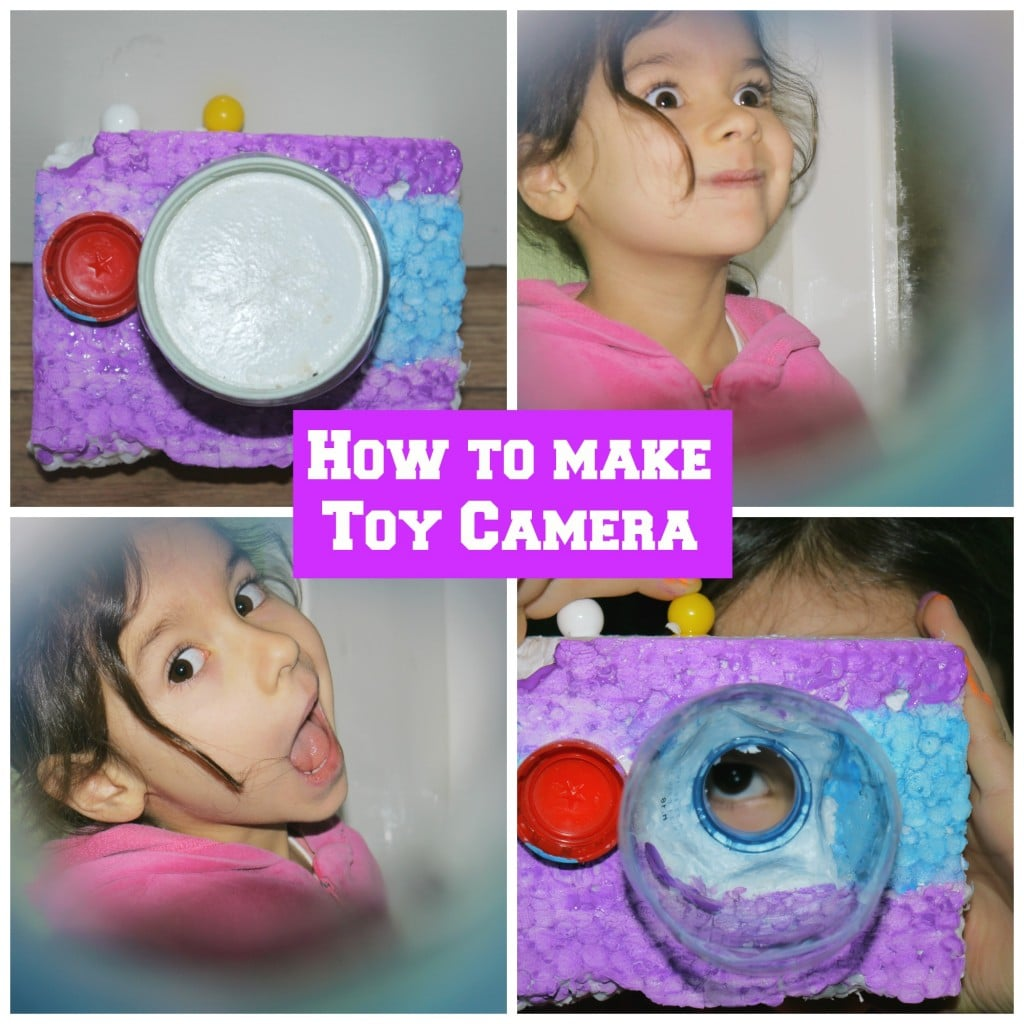 how to make toy camera in 2 min playtivities. Black Bedroom Furniture Sets. Home Design Ideas