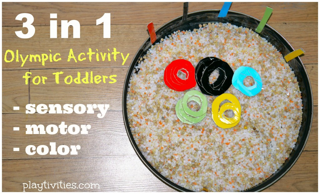 Olympic Sensor Activity Toddlers Will Love