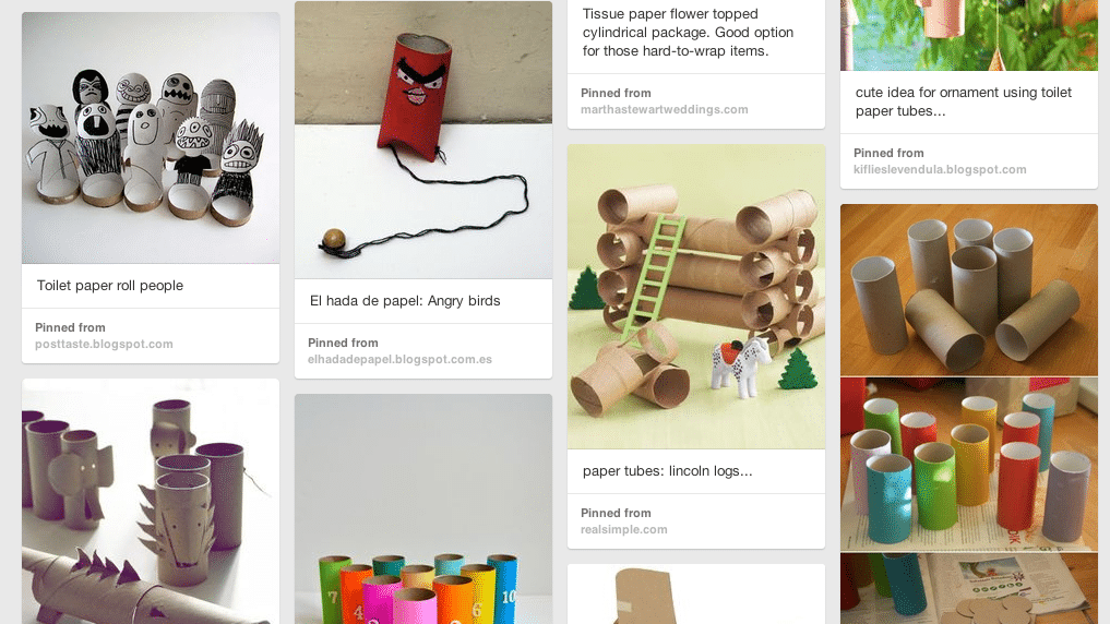 what to do with toilet paper rolls pinterest board