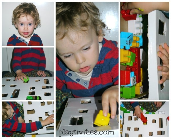 fine motor activity toddler playing