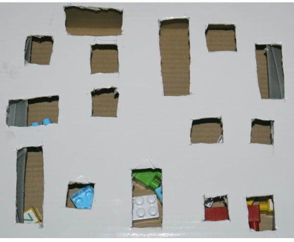 fine motor activity cut box