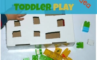 fine motor activity with lego