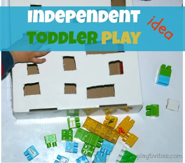 Independent Play and Fine Motor Activity for Toddlers