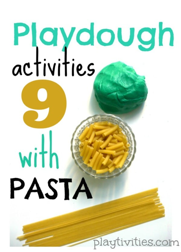 playdough activities roundup