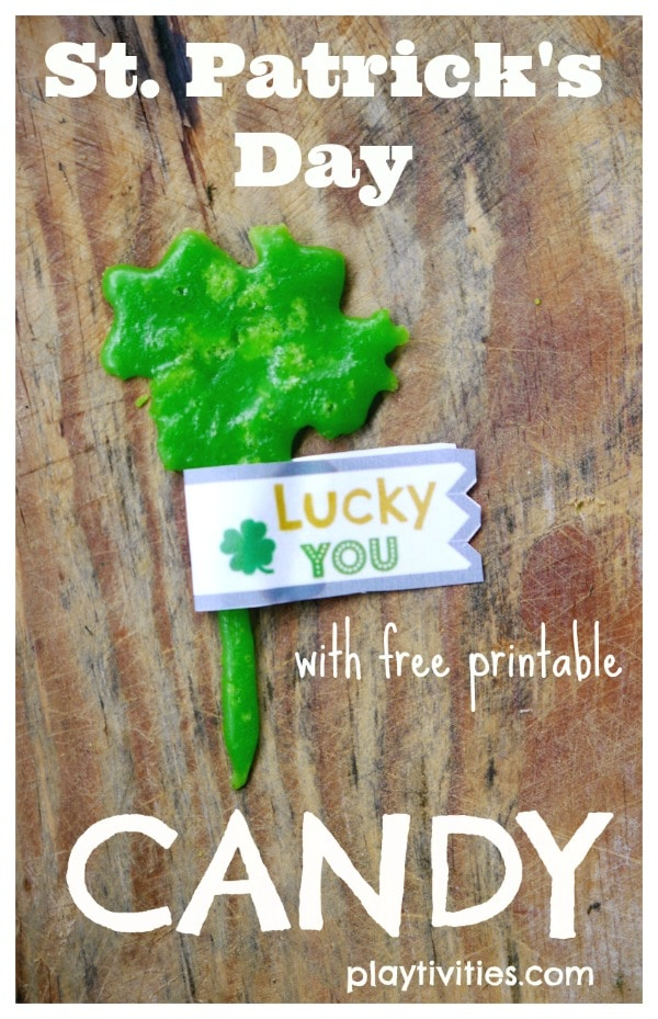 St. Patrick's Day Treats with Tags