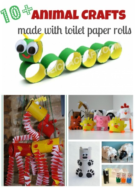 craft ideas with toilet paper rolls