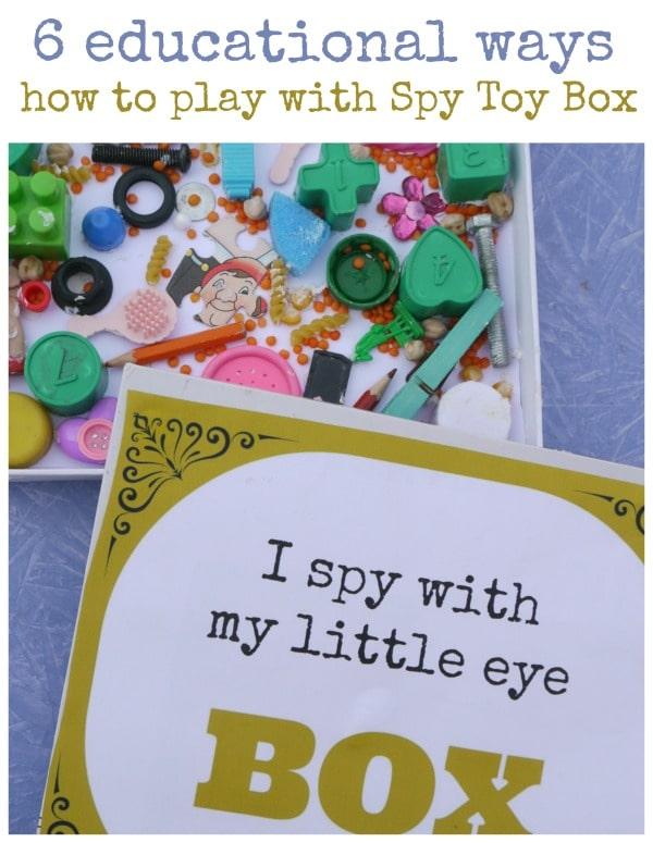 spy toy box