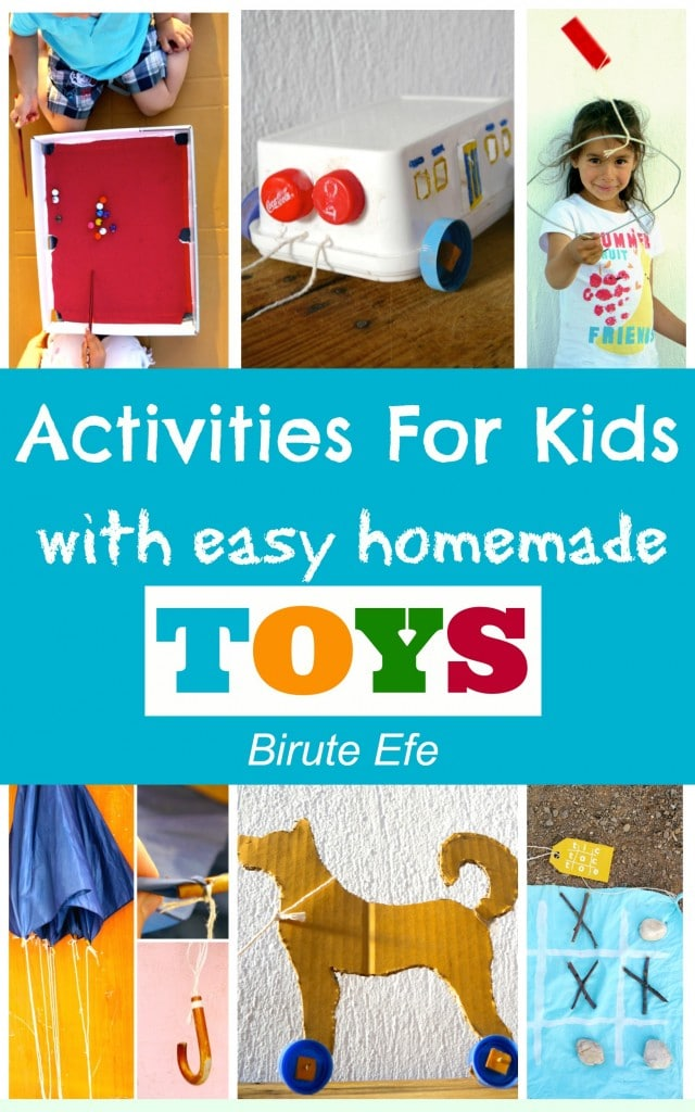 Activities For Kids with Homemade Toys eBook