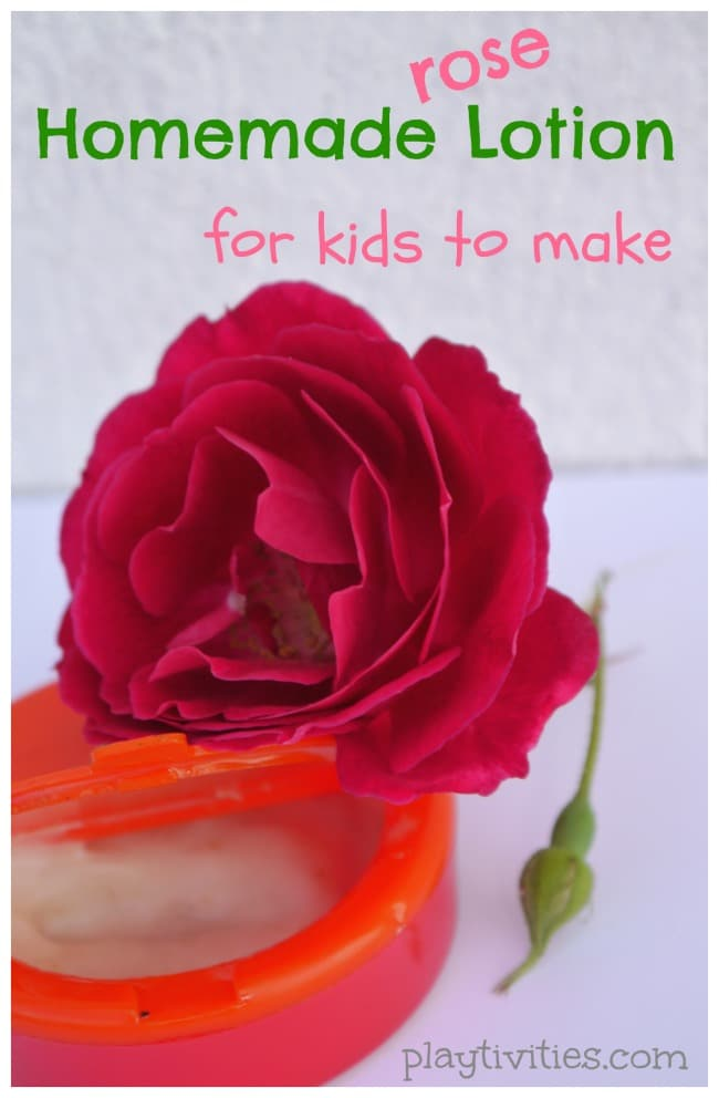 Homemade Lotion For Kids To Make