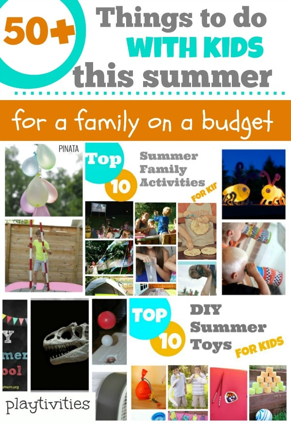 50+ Things To Do With Kids For a Family On the Budget