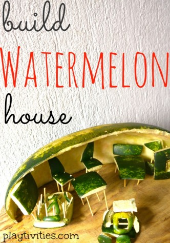 building watermelon craft