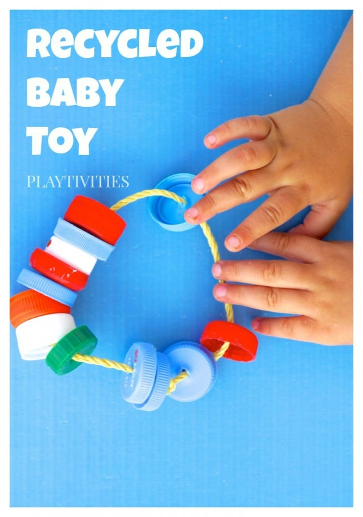 Recycled DIY Toy For Baby - PLAYTIVITIES