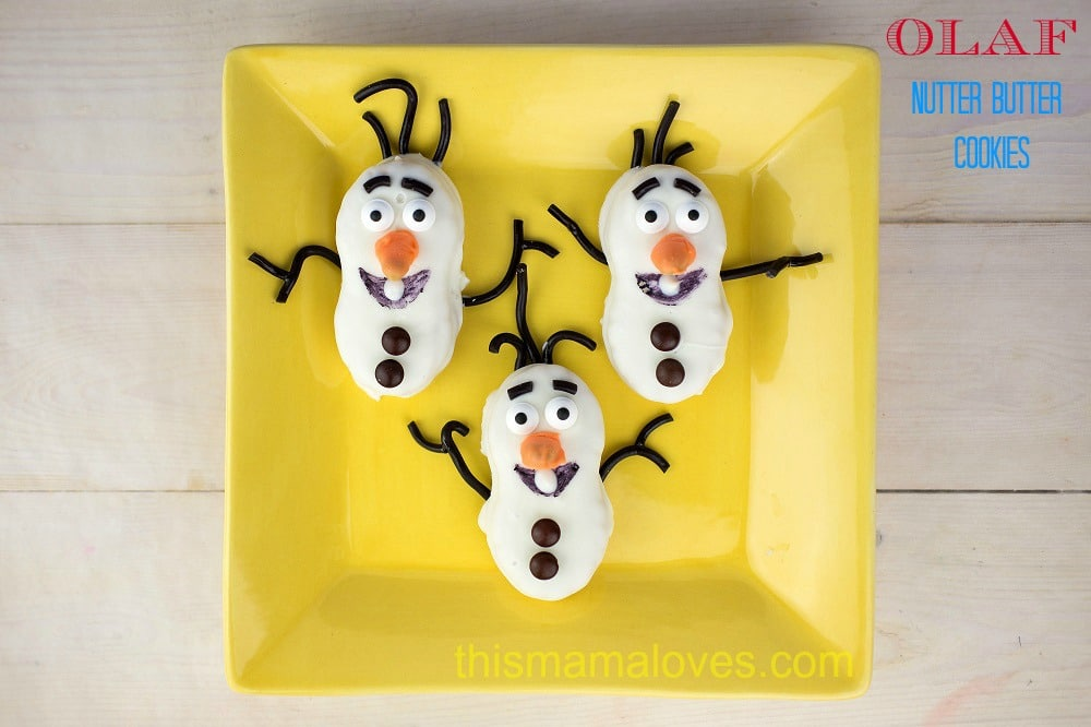 Olaf-Nutter-Butter-Cookies-Frozen-Movie