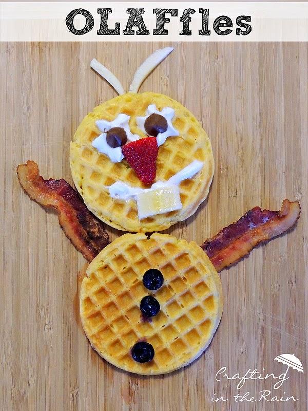 Olaf-waffles