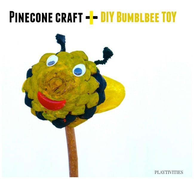 pinecone craft toy