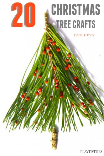 CHRISTMAS TREE CRAFTS FFOR KIDS