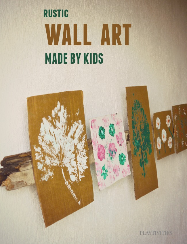 Diy Wall Art For Toddlers : Diy wall art made by kids playtivities