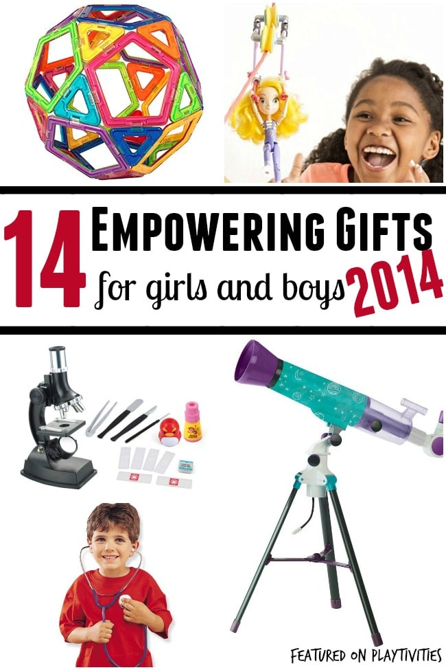 Empowering Toys For Girls And Boys 2014