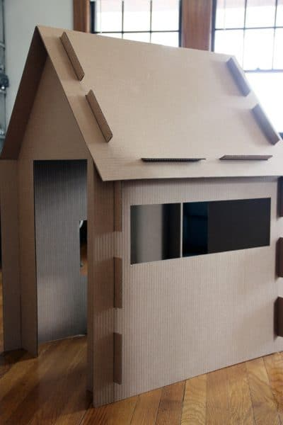 26 coolest cardboard houses ever playtivities