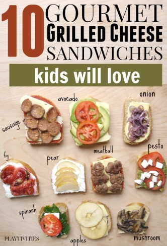 grilled cheese recipes for kids