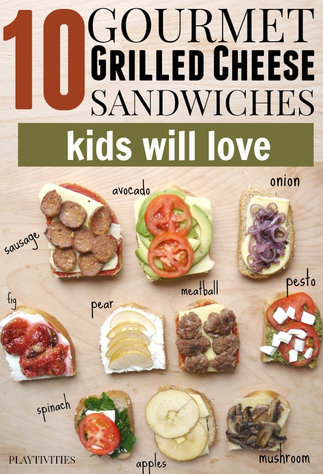 10 Kid-Approved Grilled Cheese Recipes