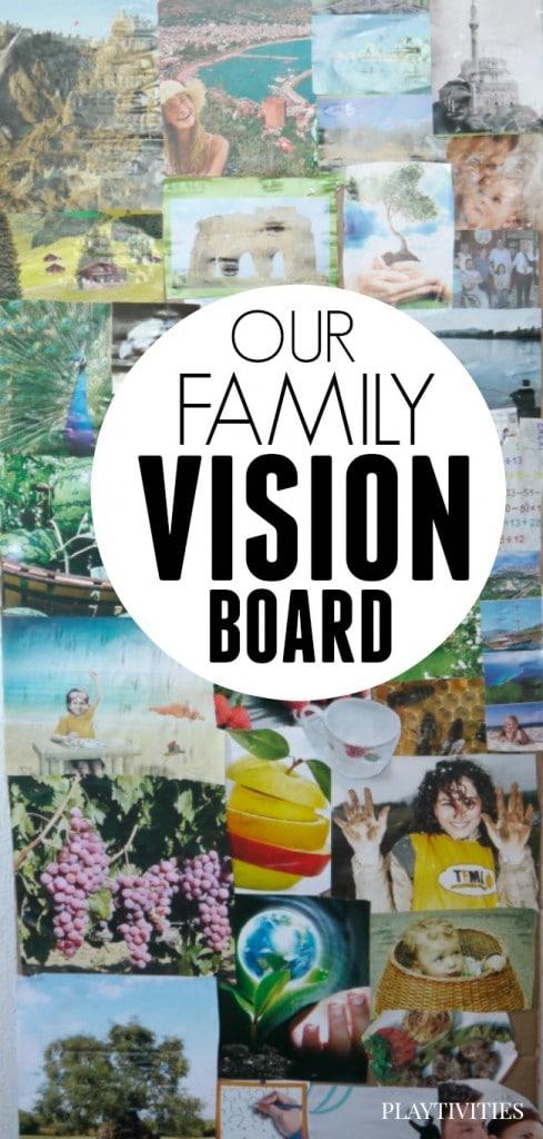 family vision board