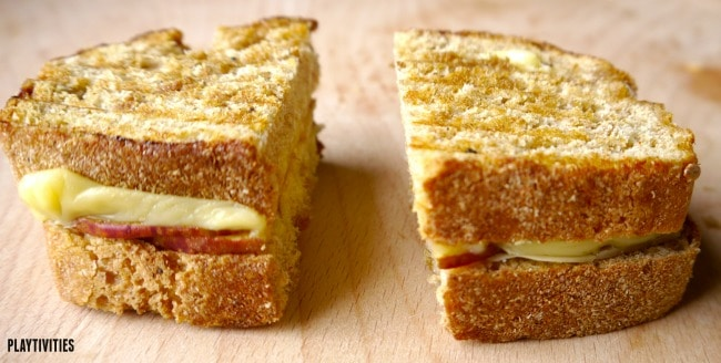 grilled cheese sandwich for kids