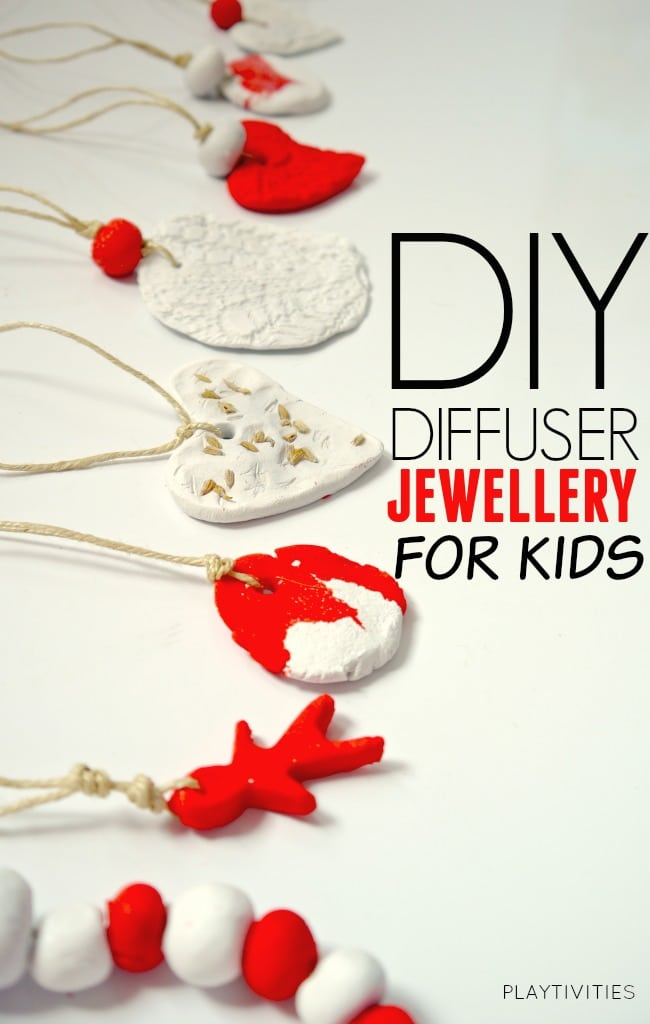 DIY DIFFUSER NECKLASE FOR KIDS
