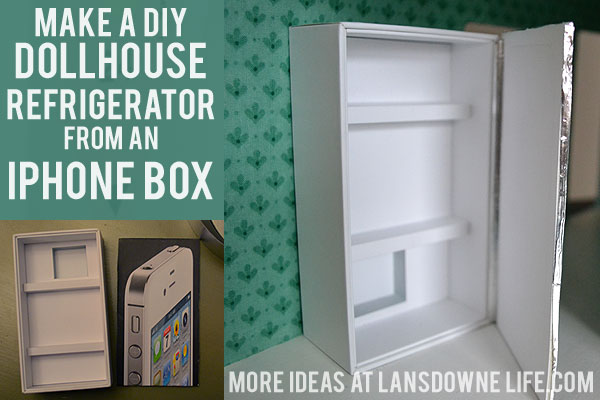 dollhouse refrigerator1 building doll furniture