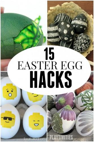 easter egg hacks pinterest