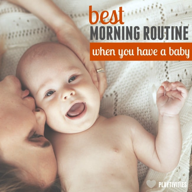 morning routine with baby