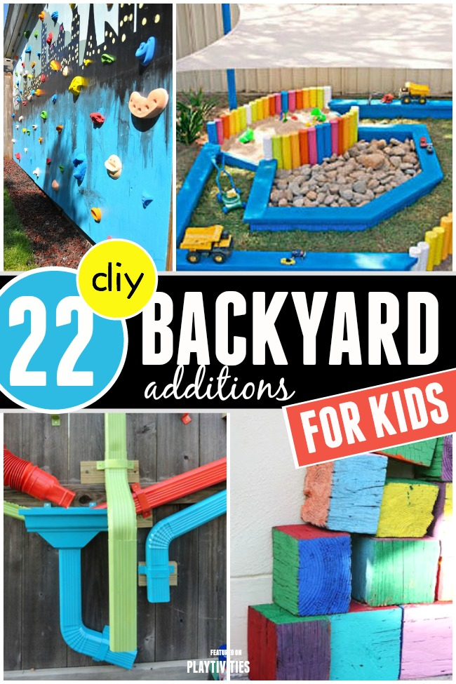 Fun Backyard Ideas For Toddlers : DIY Backyard Ideas For Kids  PLAYTIVITIES