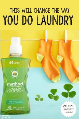 method laundry detergent pin