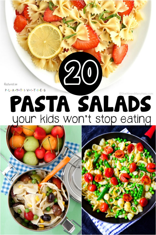 pasta salad recipes for kids