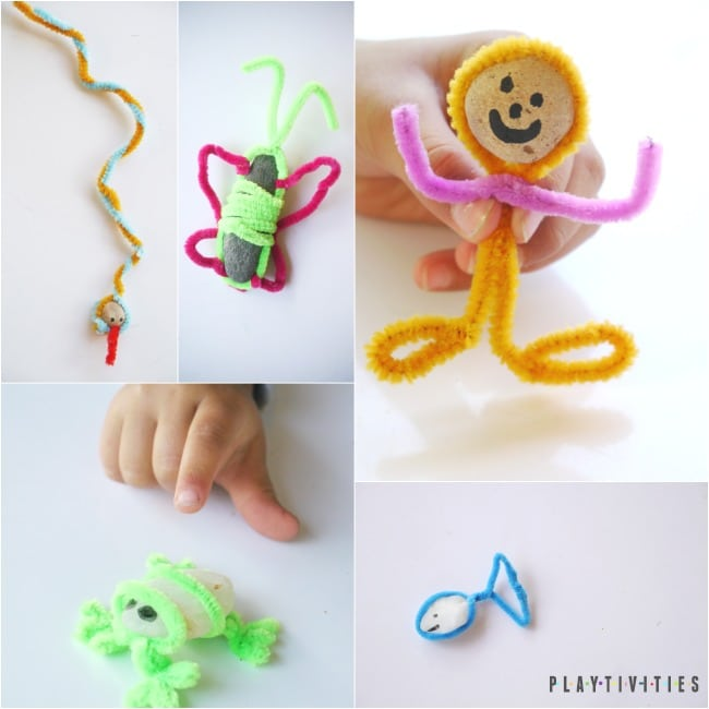 pipe cleaners animal toys