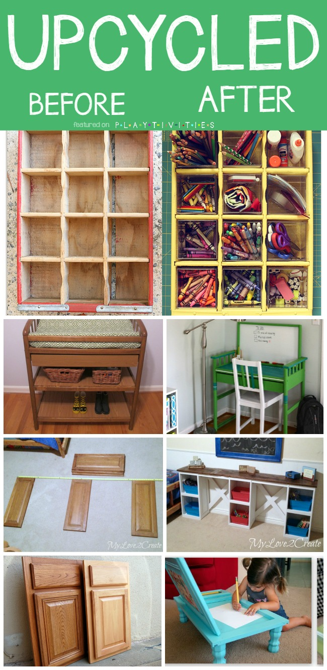 Play Kitchen From Old Furniture Repurposing Old Furniture Kid Friendly Ideas Playtivities