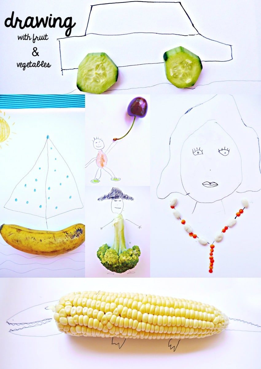 Drawing With Vegetables