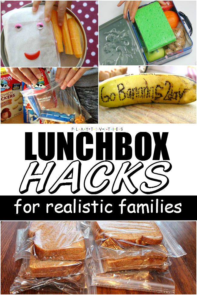 Lunch box Ideas And Hacks For Realistic Families