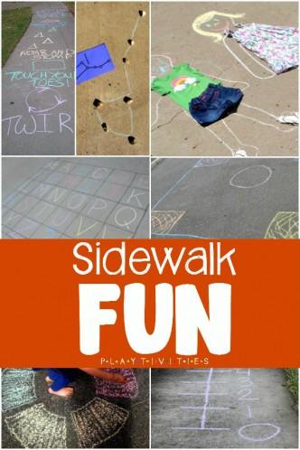 sidewalk fun