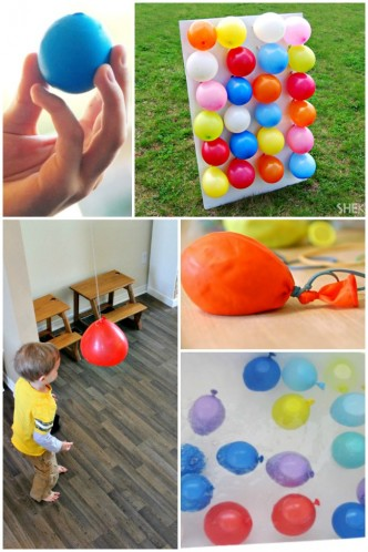 BALLOON PLAY IDEAS