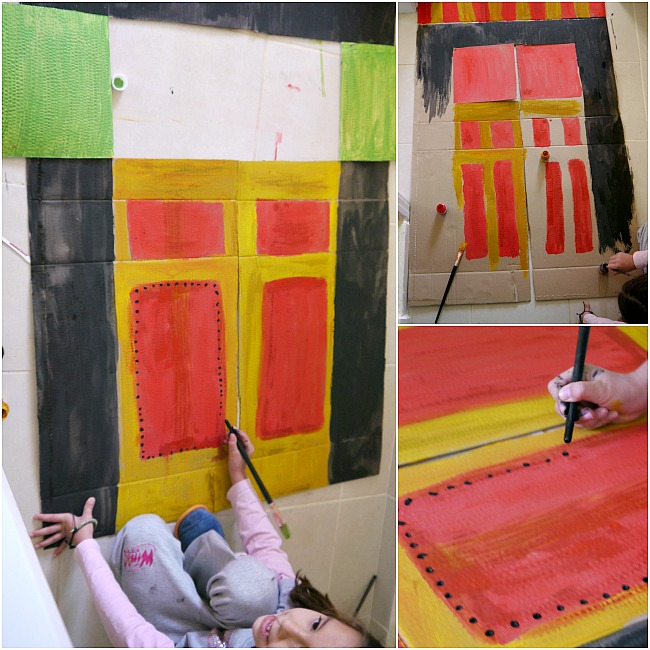 how to make puppet theater