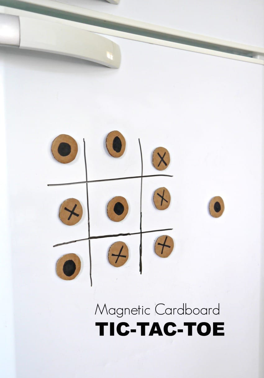 Magnetic DIY Tic Tac Toe