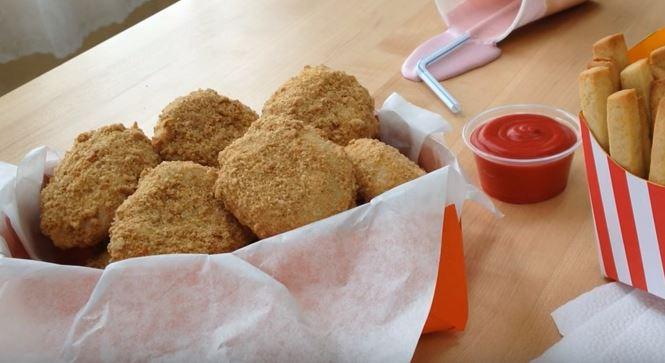 chicken nuggets prank