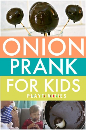 onion prank for kids pinterest