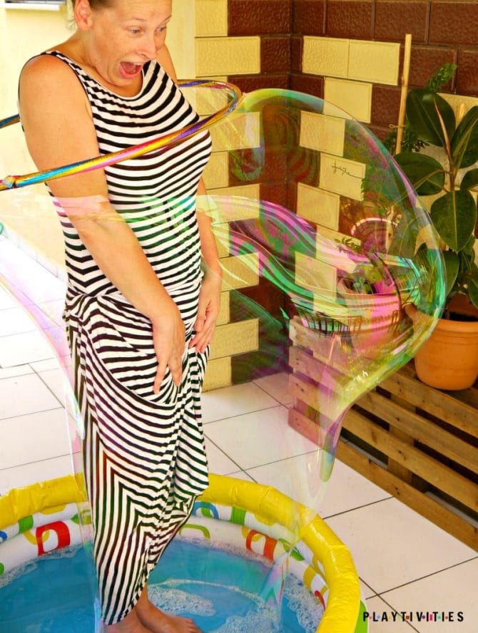 diy giant bubbles