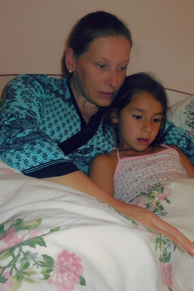 How we got back to normal bedtime routine after summer