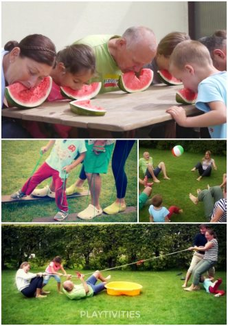 family games collage
