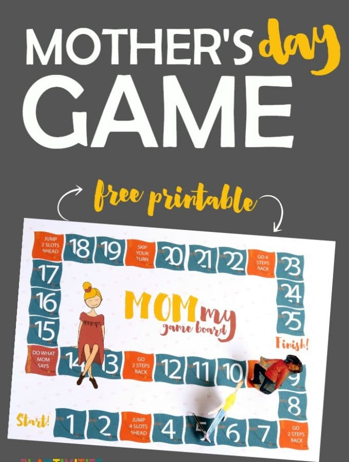 MOMmy Game Board – a dream come true for your Mother's Day
